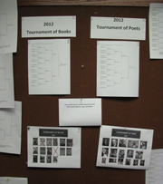 Tournament of Books and Poets Brackets