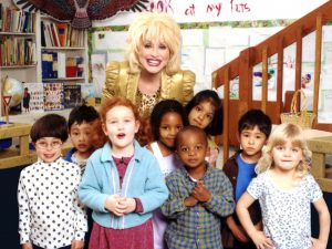 Dolly Parton Fostering Literacy